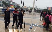 Trung Quốc: Dùng dao tấn công, 9 người bị thương