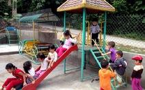 Hỗ trợ hệ thống vui chơi, giải trí cho trẻ em miền núi