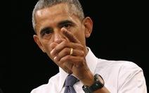 Tổng thống Obamalên án thành phố Ferguson chống người da đen