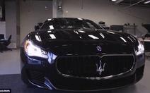 Maserati sử dụng cảm biến siêu âm loại bỏ điểm mù