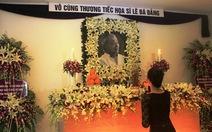 Lễ tưởng niệm họa sĩ Lê Bá Đảng tại Huế