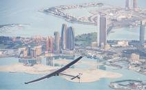 Máy baynăng lượng mặt trời bay vòng quanh thế giới