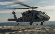 Trực thăng quân sự Mỹ rơi trên biển, 11 người mất tích