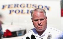 Phân biệt chủng tộc, cảnh sát trưởng Ferguson từ chức