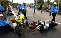 Bắt giam người cán chết thành viên đội môtô