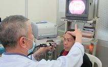 Người bệnh ung thưvòm mũi họng trẻ hóa