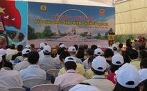 Đặt đá xây dựng khu tưởng niệm chiến sĩ Gạc Ma