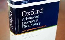 Ra mắt từ điển song ngữ Anh - Việt phong cách Oxford