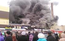 Vụ cháy chợ:Tiểu thương gặp khó, Tatarstan tổ chức quốc tang