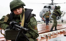 Nga dàn hàng trăm tàu chiến, máy bay tập trận
