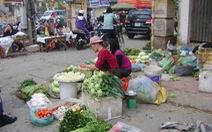 Hà Nội quyết dẹp chợ cóc, chợ tạm