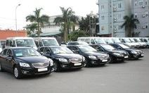 Mỗi tháng thứ trưởng nhận gần 10 triệu đồng từ khoán xe công