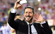 HLV Simeone ở lại Atletico Madrid đến năm 2020