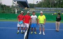 Tuyển quần vợt VN đánh bại Turkmenistan