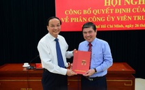Ông Nguyễn Thành Phong nhận chức phó bí thư Thành ủy TP.HCM