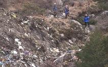 Thu thập thi thể nạn nhân máy bay 4U9525