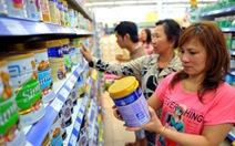 Bỏ chi phí quảng cáo đối với sữa cho trẻ dưới 2 tuổi