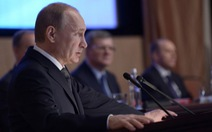 Putin: các thế lực bên ngoài tìm cách phá hoại Nga