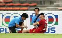 Huy Toàn vắng mặt trận gặp Olympic Nhật Bản