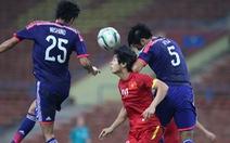 Olympic VN gục ngã trước Nhật