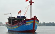 Huế hạ thủy tàu cá đầu tiên vay vốn theo nghị định 67