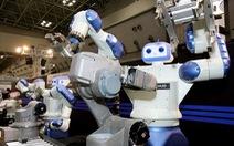 Doanh số bán người máy công nghiệp trên toàn cầu tăng mạnh