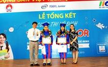 Hai học sinh TP.HCM vô địch cuộc thi TOEFL Junior 2014