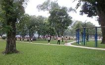 Hà Nội tổng kiểm tra công viên, vườn hoa