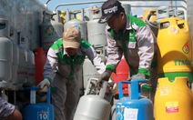 Giá gas tăng 1.500 đồng/bình