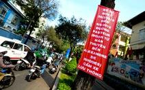 Cấm xe hai đoạn đường trung tâm TP.HCM, người dân lúng túng