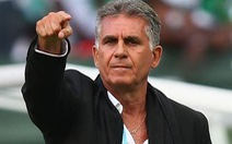 HLV Queiroz chia tay đội tuyển Iran