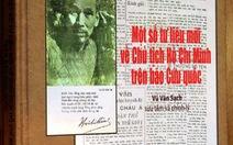 Tư liệu mới về Hồ Chủ tịch trên báo Cứu Quốc