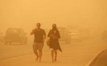 Bão cát biến Dubai thành... sao Hỏa
