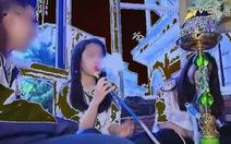 VTC14 sai khi dùng hình ảnh trong phóng sự học sinh hút shisha