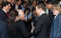 Thủ tướng Nga Dmitry Medvedev hội kiến lãnh đạo TP.HCM