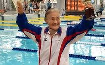 Bơi 1,5km ở tuổi 100