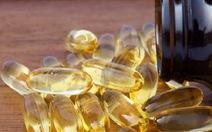 Bệnh nhân ung thư không nên dùng dầu cá