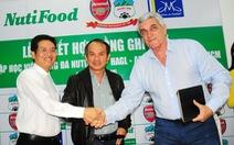 Học viện bóng đá Nutifood HAGL Arsenal JMG được đặt ở khu Rạch Chiếc