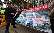 Hàn Quốc, Nhật đối thoại an ninh bất chấp căng thẳng