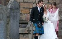 Andy Murray lên xe hoa