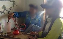 Quán trà chanh quảng cáo... giảm giá shisha trên Facebook
