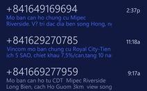 """TP.HCM chặn 256.000 thuê bao di động """"rải"""" tin nhắn rác"""