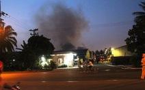 Cháy xưởng sợi bông trong khu chế xuất Tân Thuận