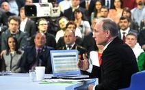 Những câu hỏi lạ lùng trong cuộc giao lưu với ông Putin