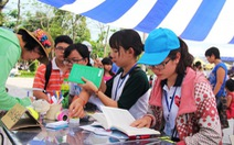 Đà Nẵng, Sài Gòn cùng hội sách, thu hút hàng ngàn người