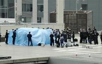 Máy bay chứa phóng xạ đáp xuống văn phòngthủ tướng Nhật