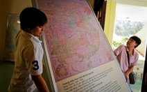 Triển lãm tư liệu Hoàng Sa - Trường Sa tại huyện đảo Phú Quý