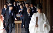 106 nghị sĩ Nhật thăm ngôi đền gây tranh cãi
