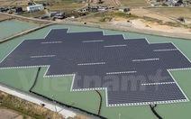 Nhật Bản xây dựng nhà máy điện mặt trời trên mặt nước