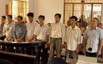 Đề nghị 3-8 năm tù các bị cáo gây tai nạn đường sắt cầu Ghềnh